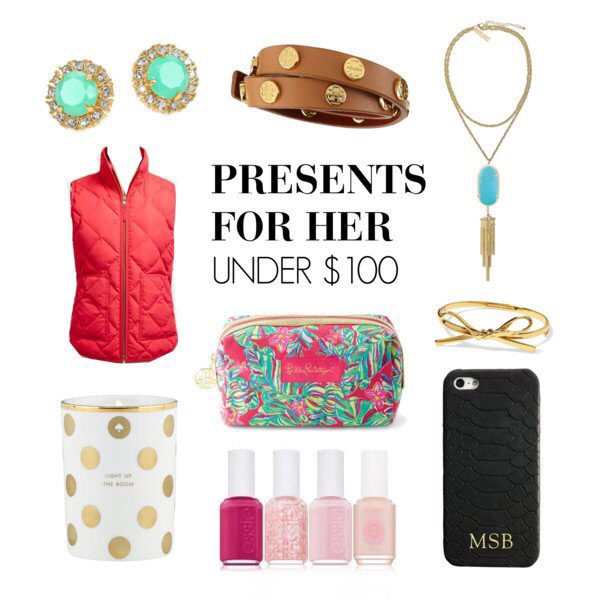 Holiday gift guide presents for her under sh l by